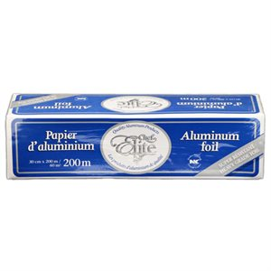 Papier Aluminium, 30 X 200 CM