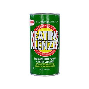 Klenzer Stainless Steel Polish&Fryer Cleanser (14oz/397g)