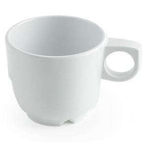 Tasse À Café En MélamineBlanche 227ml