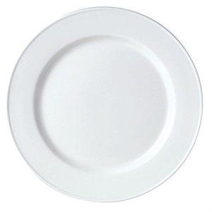 "Assiette, Motif ""Slimline"", Blanc, Diamètre 16 CM, ""Simplicity"""