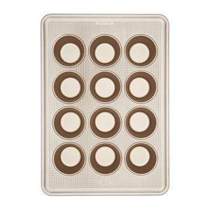 """Moule 12 Muffins (7cm) """"Pro Gold"""""""