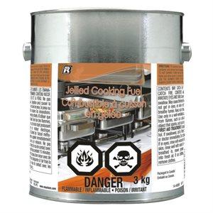 Combustible à Cuisson en Gelée, 3 Kg (6.6 Lb)