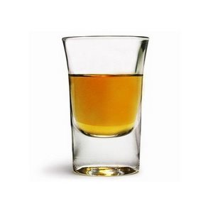 "Verre ""Shooter"", 1.25 Oz / 37 ML, ""Walnut"", 6/Caisse"
