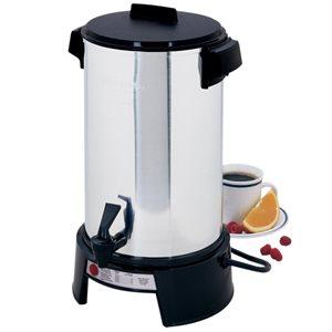 "Percolator, Coffee Maker, 36 Cups, 120V/1090W, ""West Bend"""