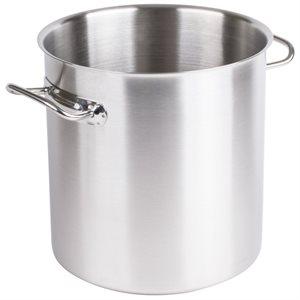 Stock Pot, Stainless Steel Aluminum, 12 Qt (11.1 L)