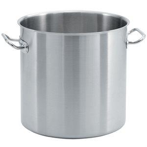 Stock Pot, 18/10 Stainless Steel Aluminum, 53 Qt (50.1 L)