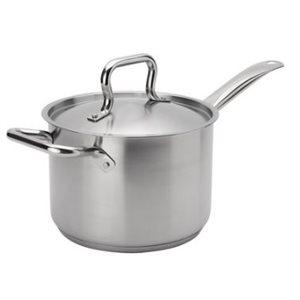 """Casserole à Sauce """"Elements"""" 4.25L en Acier Inox a/Couvercle"""