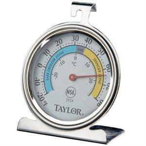 Thermomètre A Cadran, Frigidaire/Congélateur, Tige De 8.26 Cm