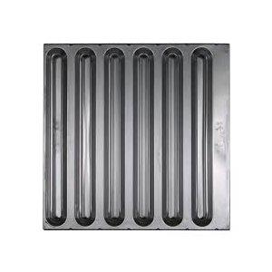 Filtre A Chicanes En Acier Inoxydable, 63.5 X 41 CM