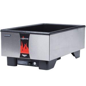 Réchaud (Comptoir), HT1001 F/W 120V 700W UL, Taille Réelle