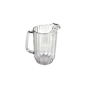 Pichet D'eau, En Polycarbonate, Transparent, 32 Oz
