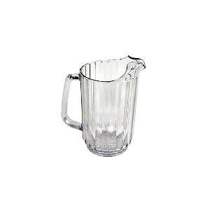 Pichet D'eau, En Polycarbonate, Transparent, 32 Oz