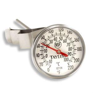Thermomètre De Poche A Cadran, Tige De 20.32 Cm