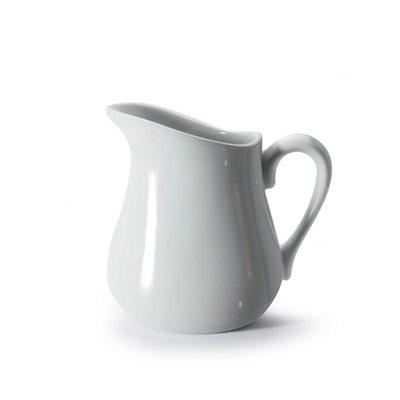 Pot A Crème, Crémier, Porcelaine, Blanc, 330 ML