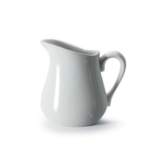 Pitcher/Pourer, Cream, Porcelain White, 330 ML