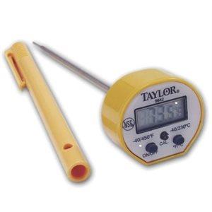 Thermomètre De Poche A Cadran, Numérique, Étanche, Tige De 12.7 Cm
