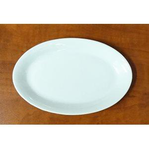 Assiette Ovale, 18.4 x 10.8 CM