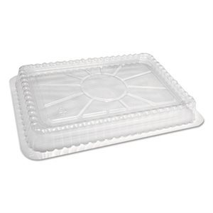 PLASTIC DOME LID FOR 1 LB. RECT. CONTAINERS - 125/PK