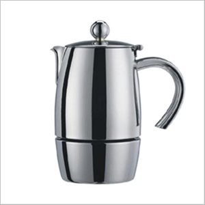 "Cafetière A Espresso, 3 Tasses, Acier Inoxydable 18/10, ""Liberta"""