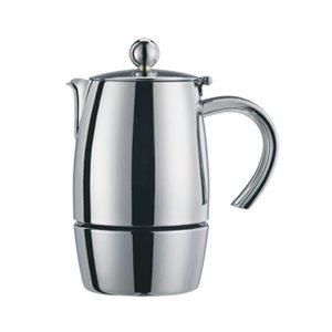 "Cafetière A Espresso, 6 Tasses, Acier Inoxydable 18/10, ""Liberta"""