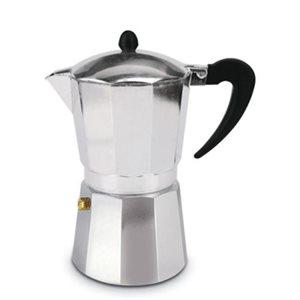 Cafetière A Espresso Pour Cuisinière, 9 Tasses, Aluminium
