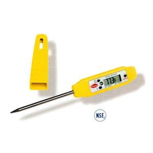 Thermomètre De Poche (Style Bic), Numérique, Étanche, Tige De 7 Cm