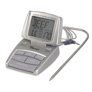 Thermomètre Chronomètre, Numérique, Pour Viande Et Volaille