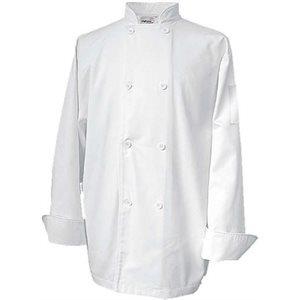 "Veste De Cuisinier, Taille Moyenne, Blanc, ""Economy Basic"""
