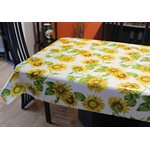 "Nappe de Table ""Tournesol"", 54 Po x 20 Mètres"