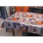 "Nappe de Table ""Faune"", 54 Po x 20 Mètres"