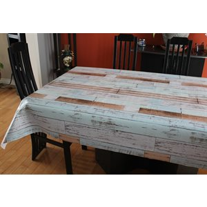 "Nappe de Table ""Woodbury"", 54 Po x 20 Mètres"
