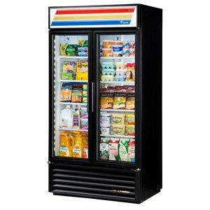 Réfrigérateur A 2 Portes En Verre, 39.5 X 29.88 X 75.63 Po
