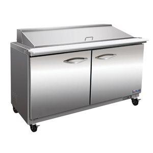 """Table de préparation réfrigéré 48"""" Mega"""