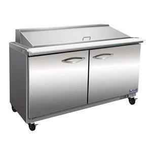 Table de préparation réfrigéré 60 po.