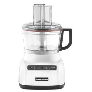 Robot Culinaire Trois Fonctions, Capacité De 1.65 Litres, Blanc
