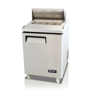 SANDWICH PREP TABLE, ONE SOLID DOOR, 6.5CU/FT (115V/60HZ)