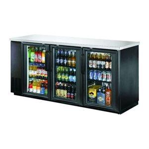 Réfrigérateur à Bière, 3 Portes en Verre, 90 Po (228 CM)
