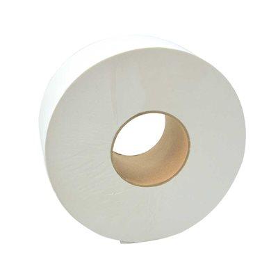 Papier Toilette, 500 Serviettes/Rouleau, 8 Rouleaux/Boite, Blanc