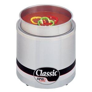 Réchaud A Casserole, 11Pt, Acier Inoxydable, 120V