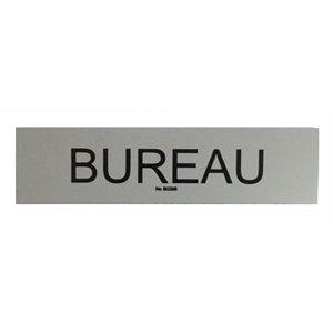 Signe ''Bureau'' 5 x 20cm, Gris