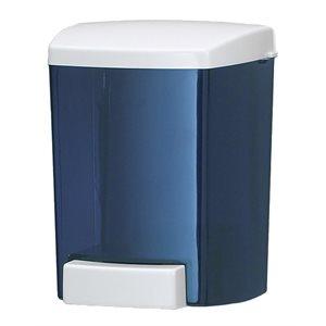 Distributeur A Savon Liquide, Fixation Murale, 46Oz/1.36L, Bleu