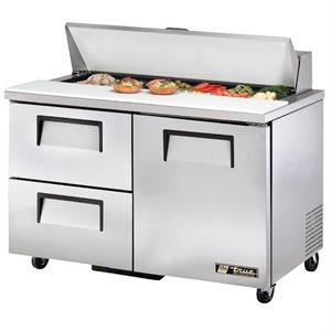Table De Préparation Réfrigérée, 2 Portes Battantes