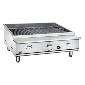 Gril Au Gaz Naturel, Largeur 35.5 CM, 22000 BTU