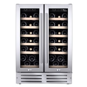 Cellier Wine Cell'R 38 Bouteilles - 2 Zones