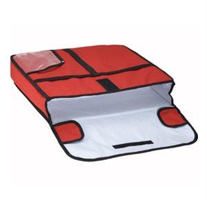 Sac De Livraison Pour Pizza, Rouge, 18 X 18 X 5 Po