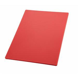 Planche A Découper, 12 X 18 X 0.5 Po, Rouge