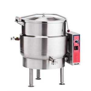 Bouilloire Électrique, 60 Gallons, 208 V/60 Hz/3 Ph, 2 valves
