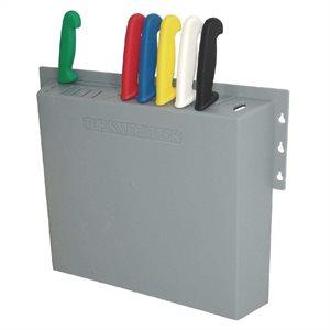 Rack À Couteaux En Plastique - 15 x 16 x 3po.