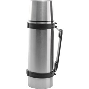 "Thermos Isothermique, Acier Inoxydable, 34 Oz / 1 L, ""Service Ideas"""