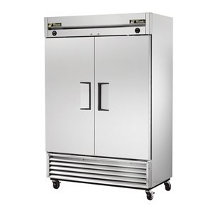 Freezer, Two Swing Doors, Stainless Steel, 54 X 29.5 X 78.25""